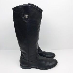 Carlos Santana Fawn Riding Boot Leather Tall 7